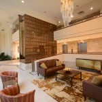 Great lobby renovation in Oakville